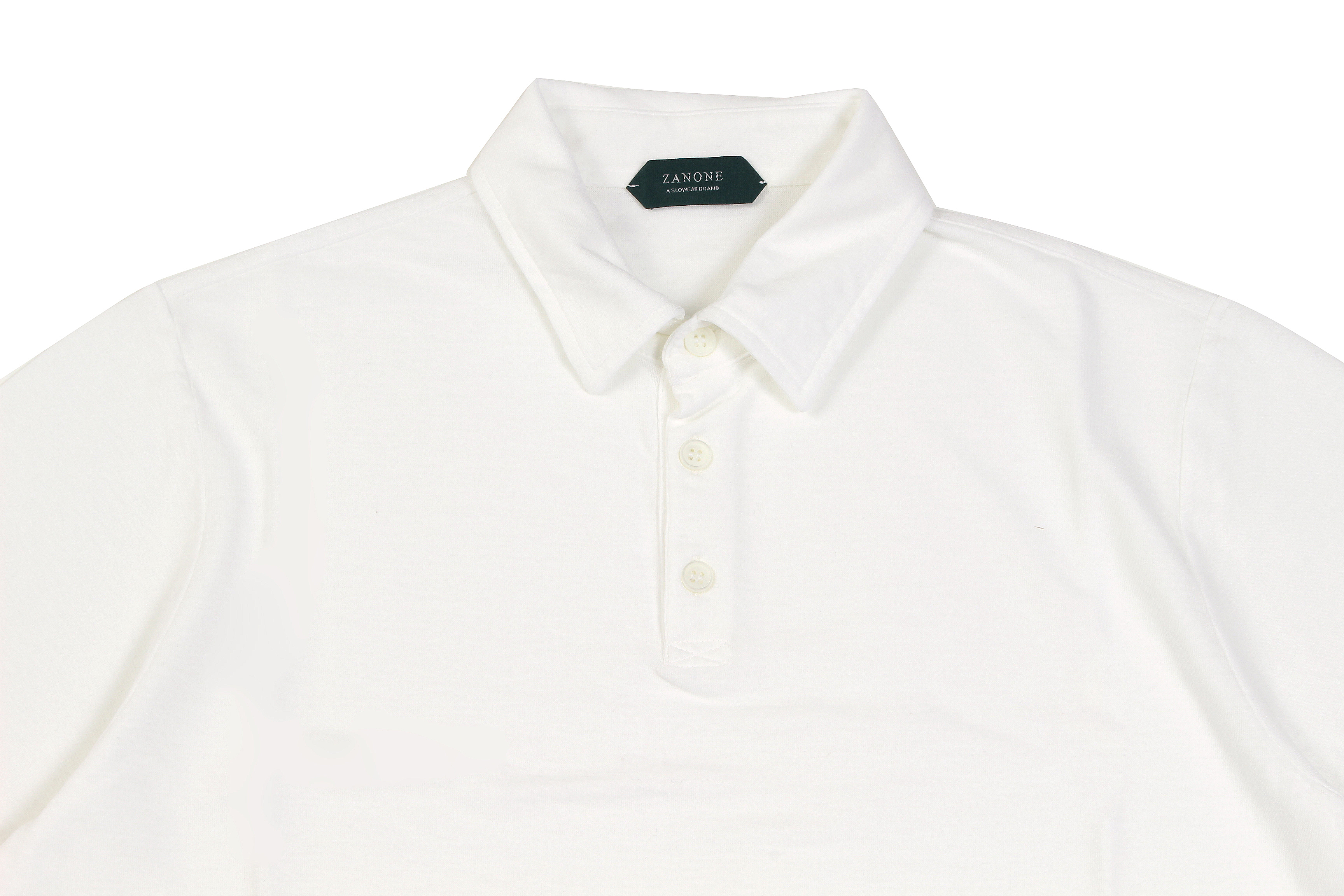 ZANONE(ザノーネ) Polo Shirt ice cotton アイスコットン ポロシャツ WHITE (ホワイト・Z0001) made in italy (イタリア製) 2020春夏新作 愛知 名古屋 altoediritto アルトエデリット