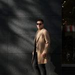 BELVEST (ベルベスト) Capsule New Chester Coat コットンウールギャバジン チェスターコート BEIGE (ベージュ) Made in italy (イタリア製) 2020 春夏新作のイメージ