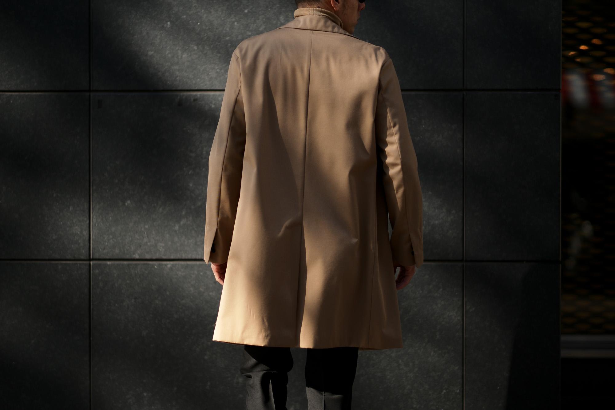 BELVEST (ベルベスト) Capsule New Chester Coat コットンウールギャバジン チェスターコート BEIGE (ベージュ) Made in italy (イタリア製) 2020 春夏新作 愛知 名古屋 altoediritto アルトエデリット