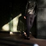 cuervo bopoha (クエルボ ヴァローナ) Sartoria Collection (サルトリア コレクション) Brad (ブラッド) WASHABLE 2WAY SUPER COMFORT NYLON ウォッシャブル ストレッチ ナイロン スラックス BLACK (ブラック) MADE IN JAPAN (日本製) 2020 春夏 【ご予約受付中】のイメージ
