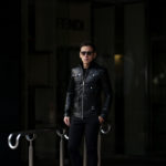 cuervo bopoha (クエルボ ヴァローナ) Satisfaction Leather Collection (サティスファクション レザー コレクション) HUNK(ハンク) BUFFALO LEATHER (バッファロー レザー) レザージャケット BLACK(ブラック) MADE IN JAPAN (日本製) 2020 春夏のイメージ