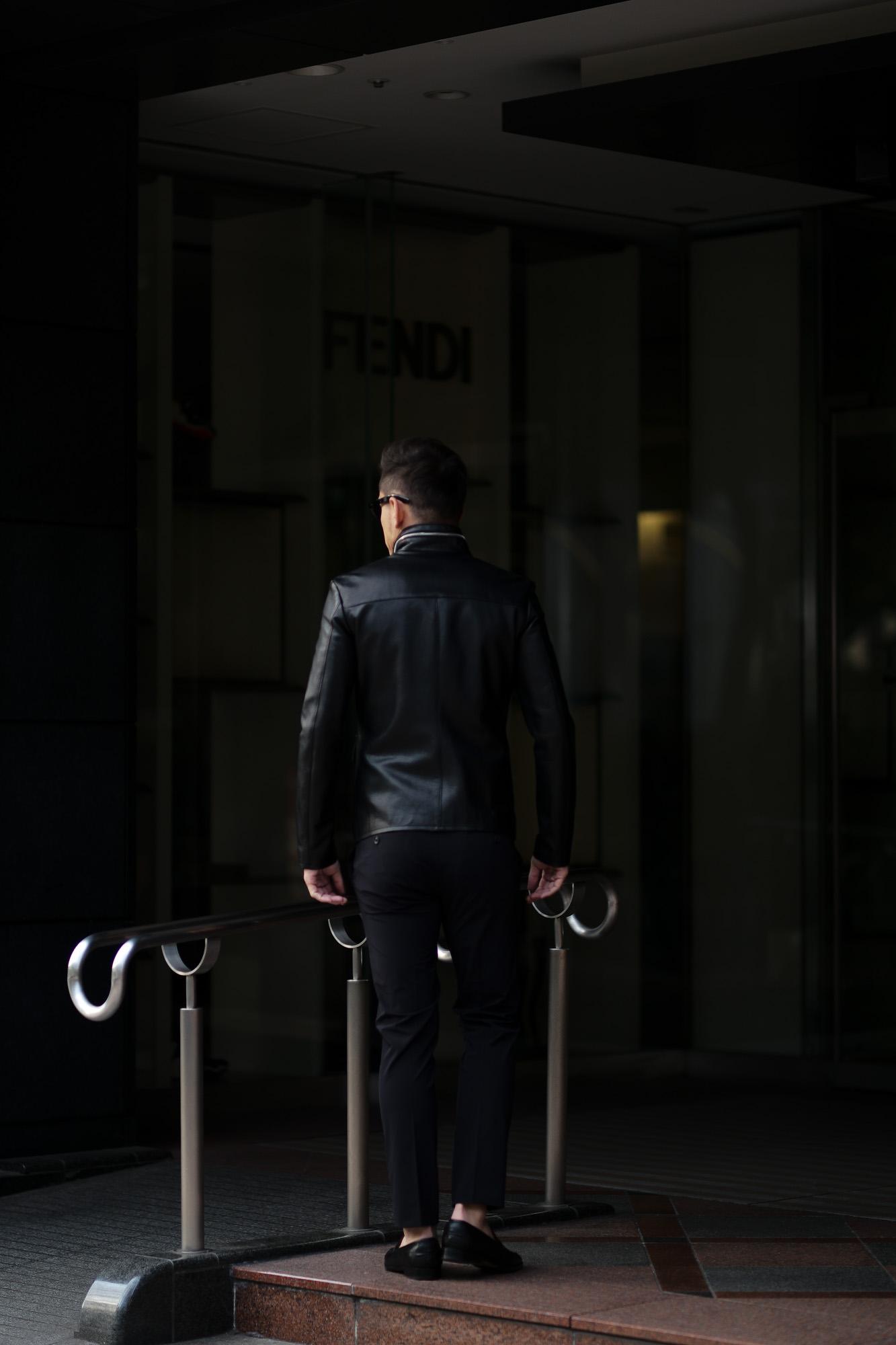 cuervo bopoha (クエルボ ヴァローナ) Satisfaction Leather Collection (サティスファクション レザー コレクション) HUNK(ハンク) BUFFALO LEATHER (バッファロー レザー) レザージャケット BLACK(ブラック) MADE IN JAPAN (日本製) 2020 春夏 愛知 名古屋 altoediritto アルトエデリット バイオハザード ハンク バイオ BIOHAZARD