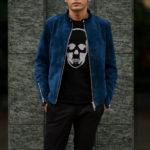 cuervo bopoha (クエルボ ヴァローナ) Satisfaction Leather Collection (サティスファクション レザー コレクション) RICHARD (リチャード) COW HIDE NUBUCK カウハイド ヌバック シングル ライダース ジャケット Shocking Blue (ショッキングブルー) MADE IN JAPAN (日本製) 2020 【Special Color】のイメージ