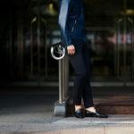cuervo bopoha (クエルボ ヴァローナ) Sartoria Collection (サルトリア コレクション) Brad (ブラッド) WASHABLE 2WAY SUPER COMFORT NYLON ウォッシャブル ストレッチ ナイロン スラックス NAVY (ネイビー) MADE IN JAPAN (日本製) 2020 春夏 【ご予約受付中】 愛知 名古屋 altoediritto アルトエデリット