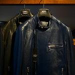 EMMETI(エンメティ) JOSEPH (ジョセフ) Lambskin Nappa Leather ラムナッパ レザー ダブル ライダース ジャケット NERO (ブラック) , BLU INDIC (ブルーインディゴ) Made in italy (イタリア製) 2020 春夏新作 愛知 名古屋 altoediritto アルトエデリット レザージャケット