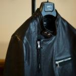EMMETI(エンメティ) JOSEPH (ジョセフ) Lambskin Nappa Leather ラムナッパ レザー ダブル ライダース ジャケット NERO (ブラック) Made in italy (イタリア製) 2020 春夏新作 【第2便ご予約開始】【2020年4月下旬入荷分】のイメージ