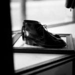 ENZO BONAFE (エンツォボナフェ) ART.3722 Chukka boots Du Puy Vitello デュプイ社ボックスカーフ チャッカブーツ NERO (ブラック) made in italy (イタリア製) 2020 【ご予約受付中】alto e diritto altoediritto アルトエデリット 愛知 名古屋