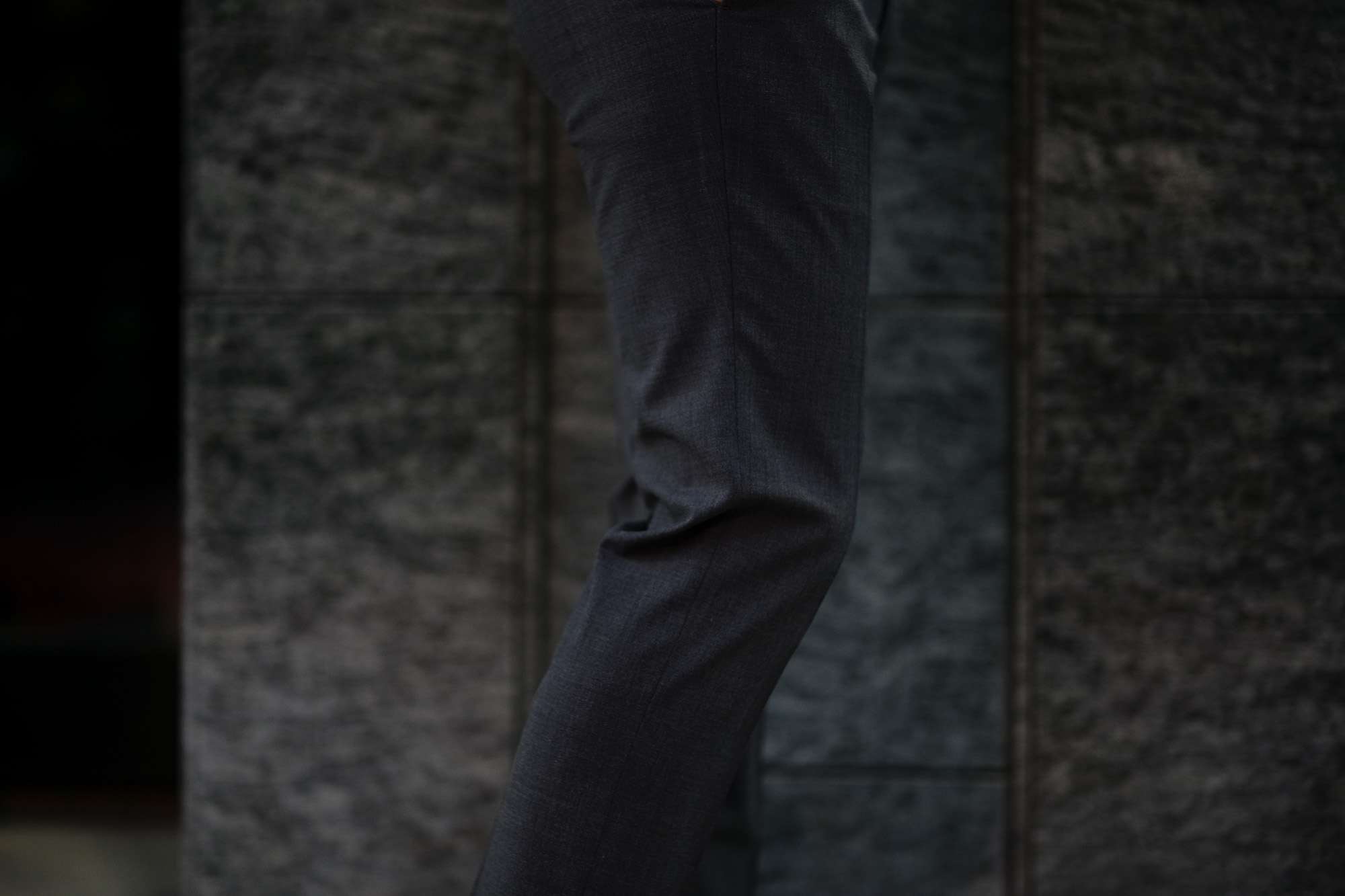 INCOTEX (インコテックス) N35 SLIM FIT (1NT035) URBAN TRAVELER (アーバントラベラー) TROPICAL TECHNOWOOL 撥水 ウォッシャブル トロピカル サマーウール スラックス CHARCOAL GRAY (チャコールグレー・920) 2020 春夏 【ご予約受付中】 愛知 名古屋 altoediritto アルトエデリット