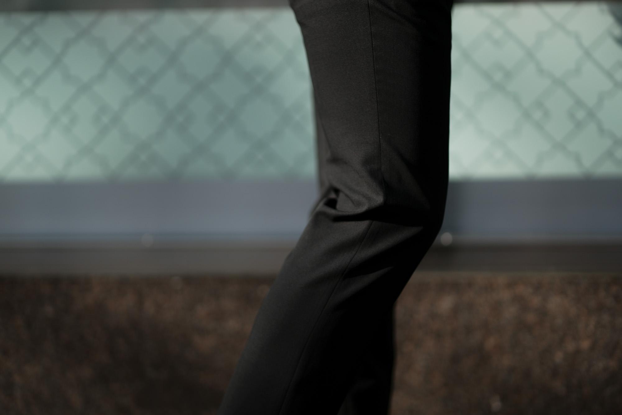 INCOTEX (インコテックス) N35 SLIM FIT (1NT035) URBAN TRAVELER (アーバントラベラー) TROPICAL TECHNOWOOL 撥水 ウォッシャブル トロピカル サマーウール スラックス BLACK (ブラック・990) 2020 春夏 【ご予約受付中】愛知 名古屋 altoediritto アルトエデリット