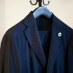 LARDINI (ラルディーニ) EASY WEAR (イージーウエア) Pakkaburu Suit パッカブル サマージャージ スーツ NAVY (ネイビー・1) Made in italy (イタリア製) 2020 春夏新作 愛知 名古屋 altoediritto アルトエデリット