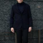 """MANRICO CASHMERE """"Silk Cashmere Wool"""" Single Jacket M300 0001 BLACK(ブラック),SNOW WHITE(スノーホワイト),DRESS BLUES(ドレスブルー),ROYAL BLUE(ロイヤルブルー),SABLE(グレージュ),GREY STONE(ダークグレー),AZTEC(ブラウン),CAMEL(キャメル),KOMBU GREEN(グリーン),YELLOW(イエロー),GRENADINE(オレンジ),HIGH RISK RED(ハイリスクレッド) MADE IN ITALY(イタリア製) 2020AWのイメージ"""