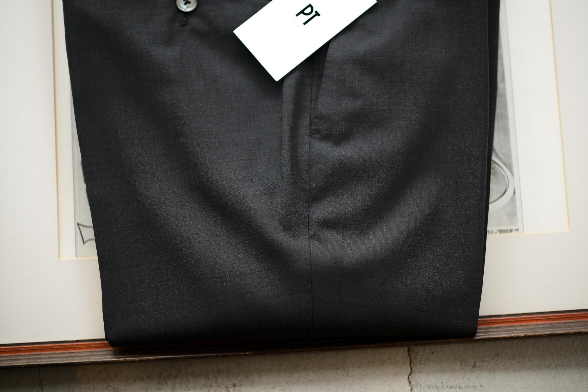 PT TORINO(ピーティートリノ) TRAVELLER (トラベラー) SUPER SLIM FIT (スーパースリムフィット) WASHABLE TECHNO WOOL ストレッチ ウォッシャブル トロピカル サマーウール スラックス CHACOAL GRAY (チャコールグレー・0260) 2020 春夏新作 pttorino 愛知 名古屋 altoediritto アルトエデリット