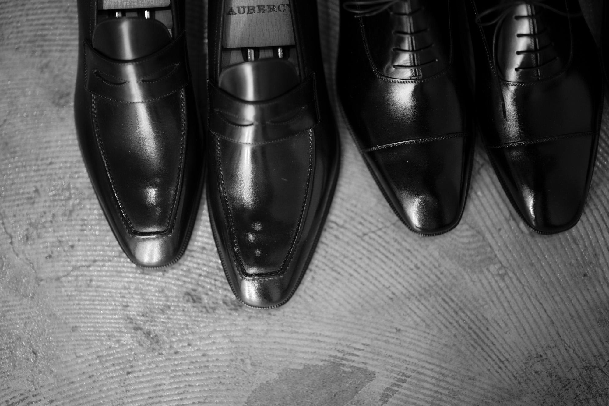 AUBERCY Bootmaker in Paris-1935 オーベルシー 愛知 名古屋 altoediritto アルトエデリット ドレスシューズ ローファー  Aubercy Paris 1935 LUPIN ルパン 3565 VITELLO NERO ブラック コインローファー SWANN スワン 5192 VITELLO NERO ブラック ストレートチップ NEIL ニール 762 VITELLO NERO ブラック ダブルストラップシューズ DARCY LARRY WALLACE ANDRE NEAL FERRANTE SPEEKE