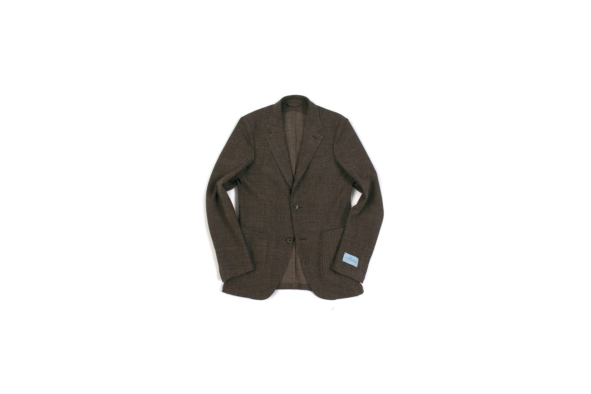 BELVEST (ベルベスト) CAPSULE SINGLE BREASTE JACKET 2PATCH WOOL SLAB COMFORT ストレッチ サマーウールスラブ ジャケットBROWN (ブラウン) Made in italy (イタリア製) 2020 春夏新作 愛知 名古屋 altoediritto アルトエデリット