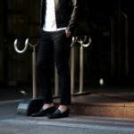 cuervo bopoha (クエルボ ヴァローナ) Sartoria Collection (サルトリア コレクション) Brad (ブラッド) Super 120's WASHABLE TROPICAL WOOL ウォッシャブル ストレッチ トロピカルウール サマーウール スラックス BLACK (ブラック) MADE IN JAPAN (日本製) 2020 春夏新作 【入荷しました】【フリー分発売開始】 愛知 名古屋 altoediritto アルトエデリット