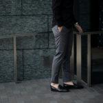 cuervo bopoha (クエルボ ヴァローナ) Sartoria Collection (サルトリア コレクション) Brad (ブラッド) Super 120's WASHABLE TROPICAL WOOL ウォッシャブル ストレッチ トロピカルウール サマーウール スラックス GRAY (グレー) MADE IN JAPAN (日本製) 2020 春夏新作 【入荷しました】【フリー分発売開始】のイメージ