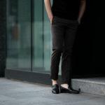 cuervo bopoha (クエルボ ヴァローナ) Sartoria Collection (サルトリア コレクション) Brad (ブラッド) Super 120's WASHABLE TROPICAL WOOL ウォッシャブル ストレッチ トロピカルウール サマーウール スラックス OLIVE (オリーブ) MADE IN JAPAN (日本製) 2020 春夏新作 【入荷しました】【フリー分発売開始】のイメージ