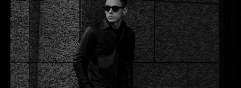 cuervo bopoha (クエルボ ヴァローナ) Satisfaction Leather Collection (サティスファクション レザー コレクション) JACK (ジャック) LAMB LEATHER (ラムスキン) レザージャケット BLACK (ブラック) MADE IN JAPAN (日本製) 2020 春夏 【Special Model】のイメージ