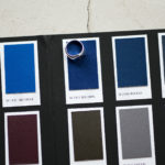 EMMETI(エンメティ) JOSEPH (ジョセフ) Lambskin Nappa Leather ラムナッパ レザー ダブルライダース BLUE OPAL (ブルー) Made in italy (イタリア製) 2020 秋冬 【Alto e Diritto 限定モデル】【ご予約受付中】のイメージ