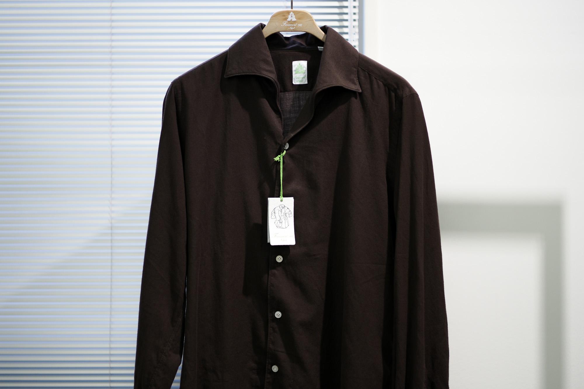 Finamore / フィナモレ (2020 秋冬 メイン 展示会) シャツ ワンピースカラーシャツ デニムシャツ デニム Altoeriditto アルトエデリット