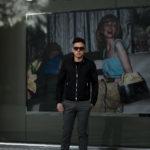 MOORER(ムーレー) VANGI-KM1(バンジー KM1) ナイロン シングル ライダースジャケット NERO(ブラック・08) Made in italy (イタリア製) 2020春夏新作 愛知 名古屋 altoediritto アルトエデリット