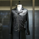 SILENCE(サイレンス) Double Riders Jacket (ダブルライダース ジャケット) Goat Suede Leather (ゴートスエード レザー) ダブルライダース ジャケット NERO (ブラック) Made in italy (イタリア製) 2020 秋冬 【ご予約受付中】のイメージ