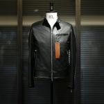 SILENCE(サイレンス) Single Leather Jacket (シングルレザー ジャケット) Goat Suede Leather (ゴートスエード レザー) スウェード シングル ライダースジャケット NERO (ブラック) Made in italy (イタリア製) 2020 秋冬 【ご予約受付中】のイメージ