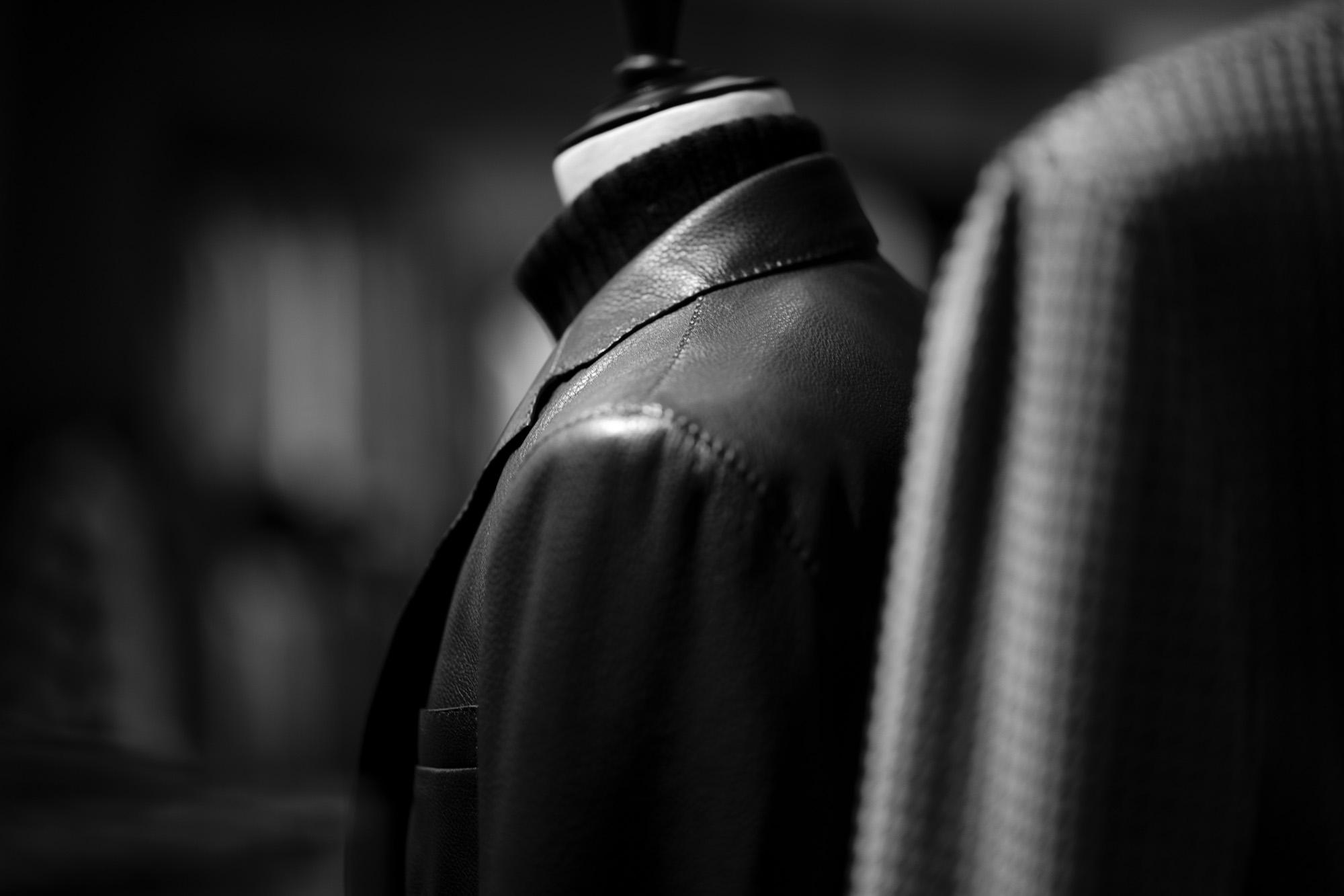 TAGLIATORE /// CARTON Lamb Leather 2020AW タリアトーレ カールトン ラムレザー テーラードレザージャケット ブラック ブラウン 愛知 名古屋 altoediritto アルトエデリット
