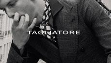 TAGLIATORE / タリアトーレ (2020 秋冬 メイン 展示会) 愛知 名古屋 altoediritto アルトエデリット レザー テーラード ジャケット スーツ セットアップ ストライプ CARTON カールトン ピーノライン カジュアルセットアップ ジャージ素材