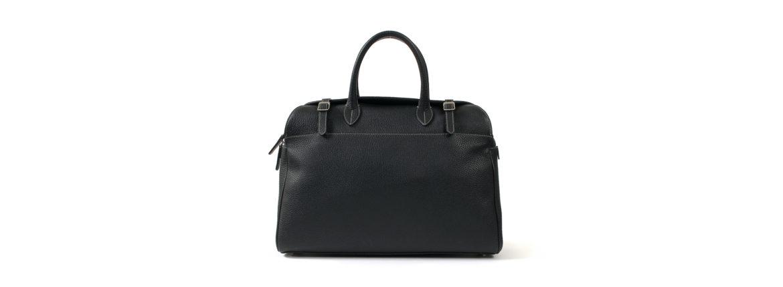 ACATE (アカーテ) AUSTRU (アウストル) Montblanc leather (モンブランレザー) ボストンバッグ NERO (ネロ) MADE IN ITALY (イタリア製) 2020 春夏新作のイメージ