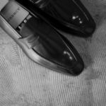 """AUBERCY // """"LUPIN"""" 3565 Coin Loafer Nero 2020AWのイメージ"""