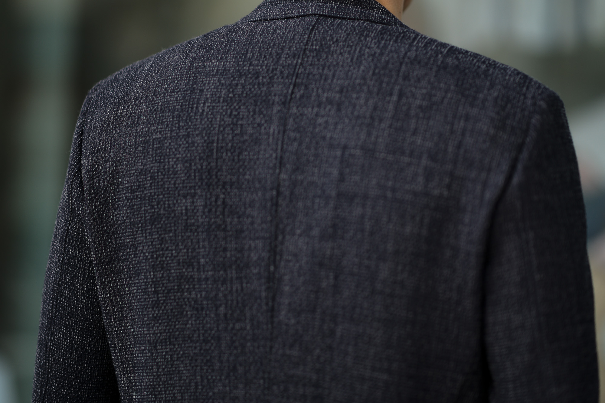 BELVEST (ベルベスト) CAPSULE SINGLE BREASTE JACKET 2PATCH WOOL SLAB COMFORT ストレッチ サマーウールスラブ ジャケット NAVY (ネイビー) Made in italy (イタリア製) 2020 春夏新作 愛知 名古屋 altoediritto アルトエデリット