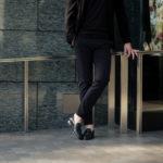 cuervo bopoha (クエルボ ヴァローナ) Sartoria Collection (サルトリア コレクション) Brad (ブラッド) WASHABLE 2WAY SUPER COMFORT NYLON ウォッシャブル ストレッチ ナイロン スラックス BLACK (ブラック) MADE IN JAPAN (日本製) 2020 春夏新作 愛知 名古屋 altoediritto アルトエデリット