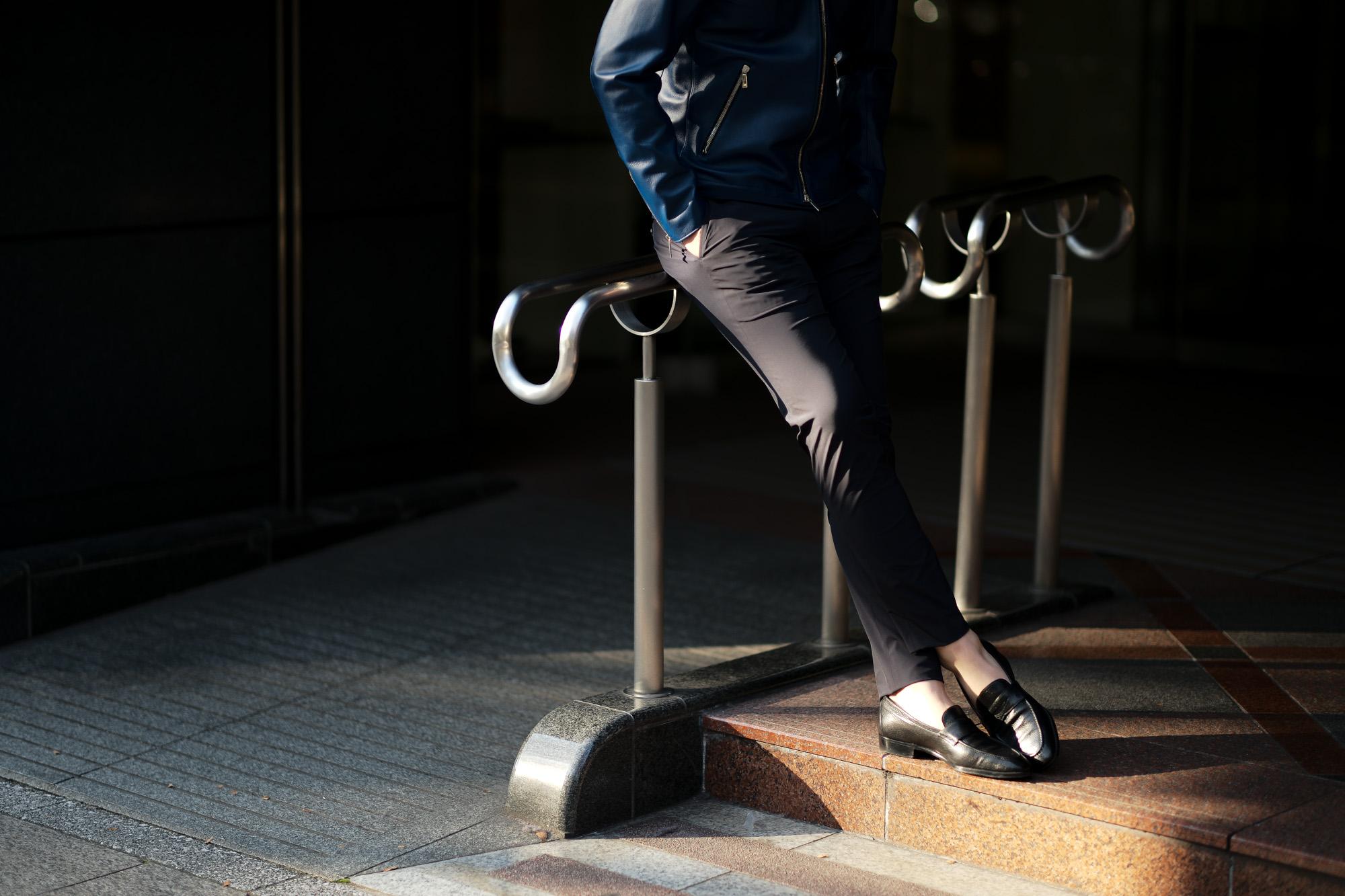 cuervo bopoha (クエルボ ヴァローナ) Sartoria Collection (サルトリア コレクション) Brad (ブラッド) WASHABLE 2WAY SUPER COMFORT NYLON ウォッシャブル ストレッチ ナイロン スラックス NAVY (ネイビー) MADE IN JAPAN (日本製) 2020 春夏新作 愛知 名古屋 altoediritto アルトエデリット