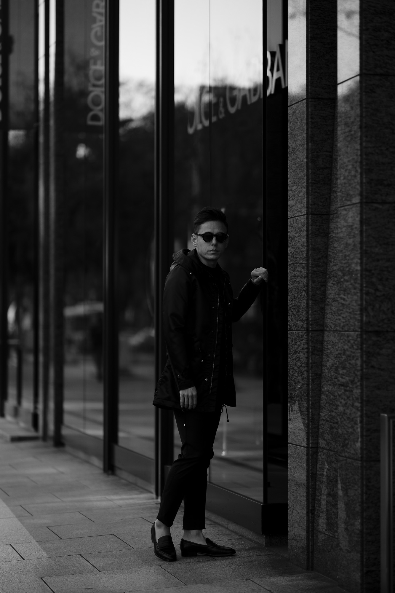 "cuervo bopoha // ""Liam"" Black 2020 AW クエルボ ヴァローナ リアム modscoat モッズコート ナイロン 愛知 名古屋 altoediritto アルトエデリット"