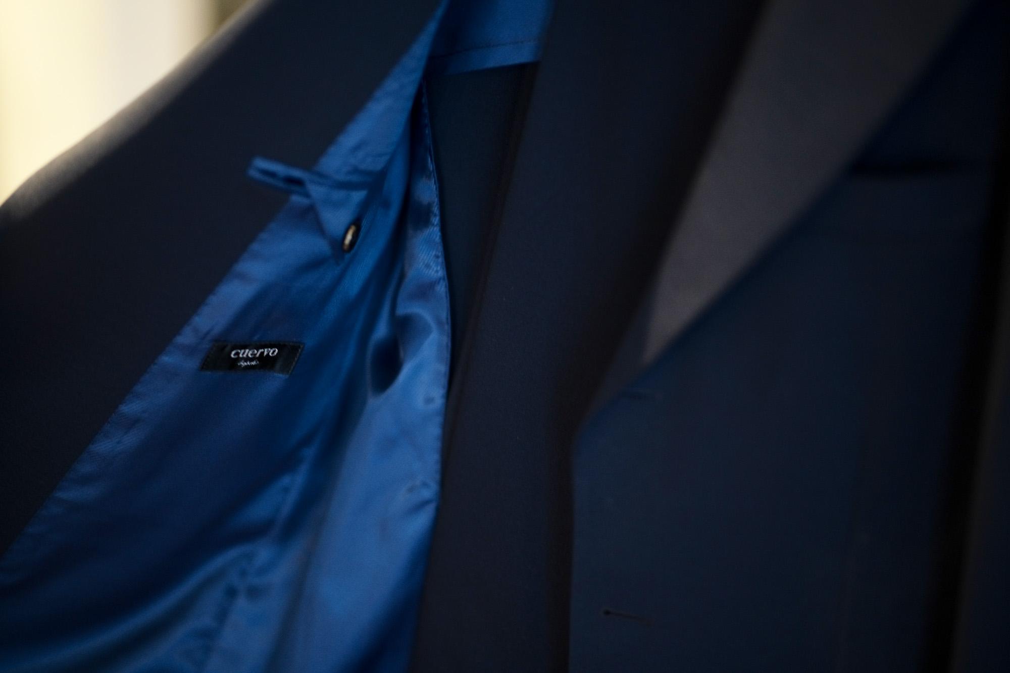 cuervo bopoha(クエルボ ヴァローナ) Sartoria Collection (サルトリア コレクション) Rooster (ルースター) Summer Jersey サマージャージー スーツ NAVY (ネイビー) MADE IN JAPAN (日本製) 2020 【オーダー分入荷】 Summer Jersey サマージャージー オーダースーツ 愛知 名古屋 altoediritto アルトエデリット