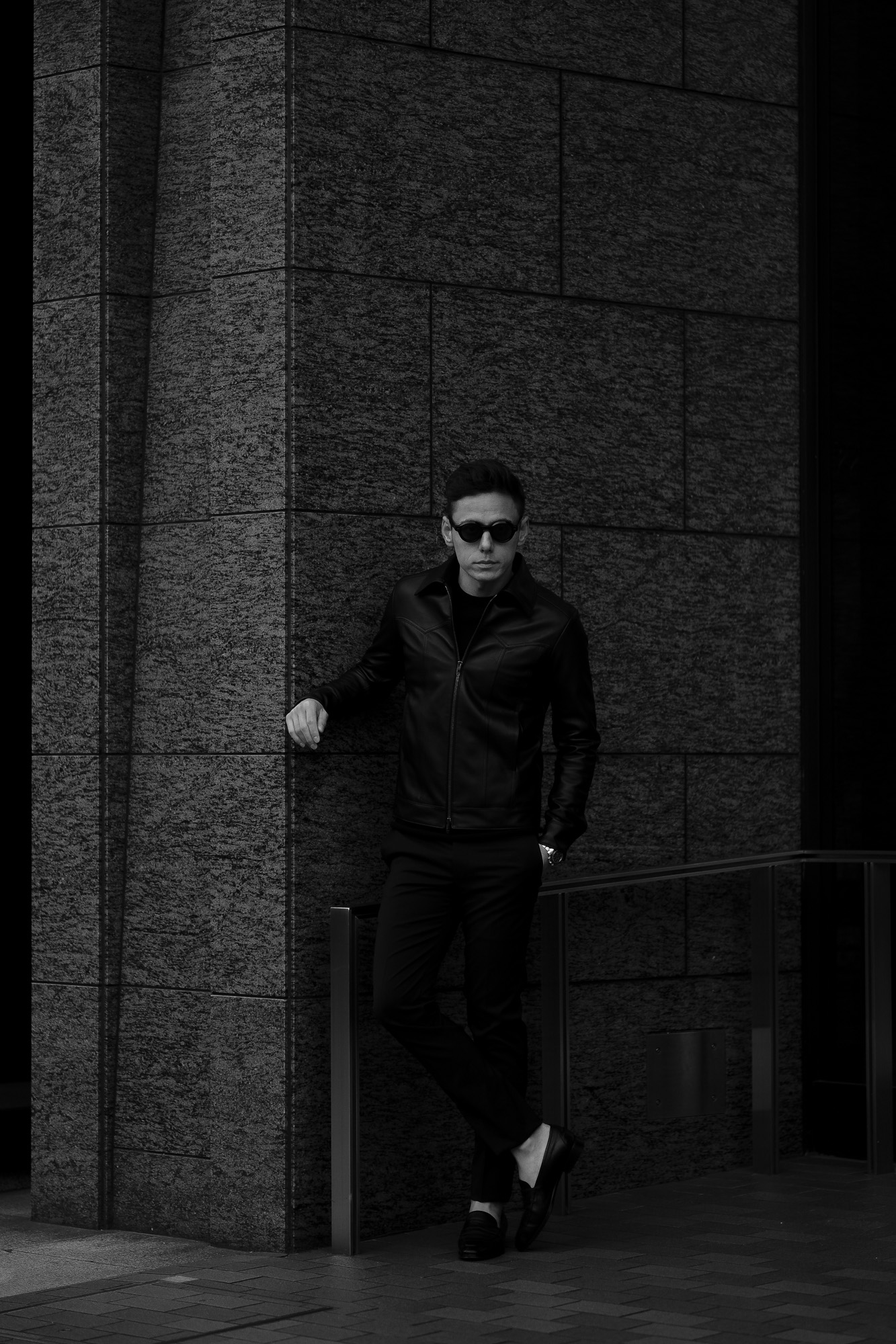 cuervo bopoha (クエルボ ヴァローナ) Satisfaction Leather Collection (サティスファクション レザー コレクション) JACK (ジャック) LAMB LEATHER (ラムスキン) レザージャケット BLACK (ブラック) MADE IN JAPAN (日本製) 2020 春夏 【Special Model】愛知 名古屋 altoediritto アルトエデリット