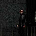 cuervo bopoha (クエルボ ヴァローナ) Satisfaction Leather Collection (サティスファクション レザー コレクション) HUNK(ハンク) BUFFALO LEATHER (バッファロー レザー) レザージャケット BLACK(ブラック) MADE IN JAPAN (日本製) 2020 春夏