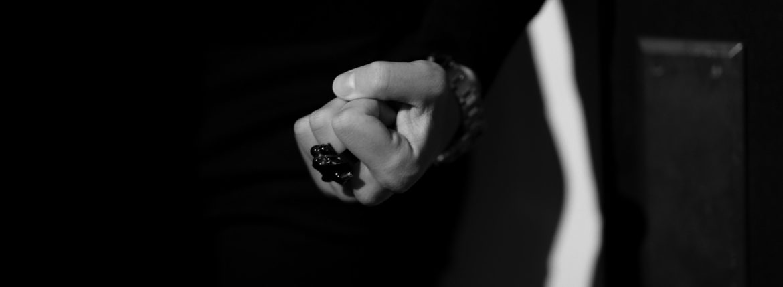 "FIXER(フィクサー) BLACK PANTHER RING ""RUBY"" BLACK RHODIUM(ブラック ロジウム) ブラック パンサーリング ルビー BLACK(ブラック) 2020 愛知 名古屋 altoediritto アルトエデリット イルミナティリング コーティング"