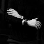 FIXER(フィクサー) CROCODILE LEATHER BRACELET 925 STERLING SILVER(925 スターリングシルバー) クロコダイル レザー ブレスレット BLACK (ブラック) 2020 【SOLD OUT】のイメージ
