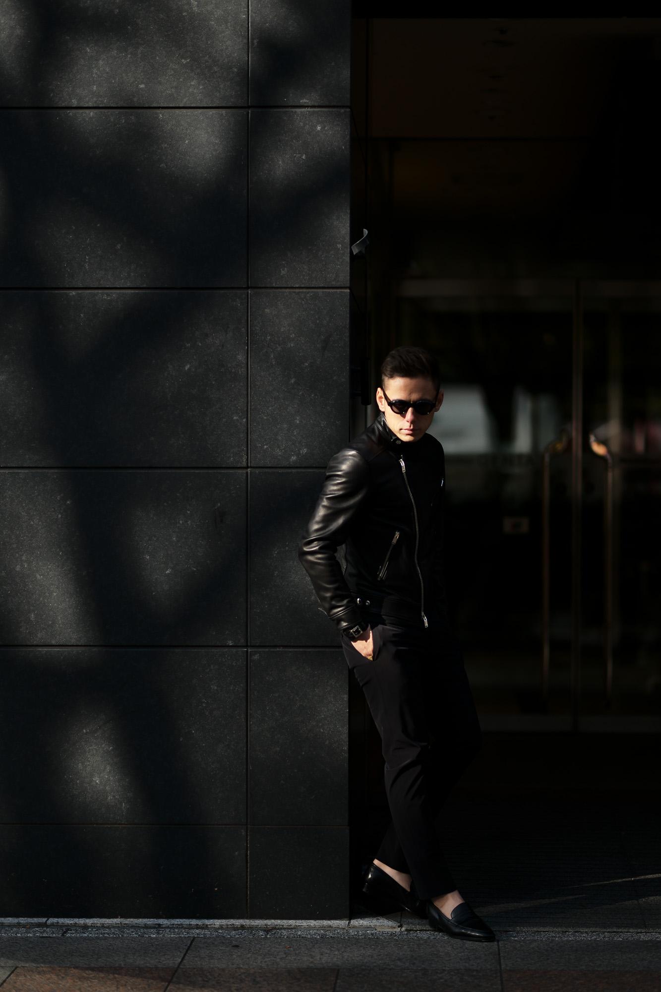 FIXER(フィクサー) F1(エフワン) DOUBLE RIDERS Cow Leather ダブルライダース ジャケット BLACK(ブラック) 【ご予約開始】【2020.3.14(Sat)~2020.3.29(Sun)】愛知 名古屋 altoediritto アルトエデリット