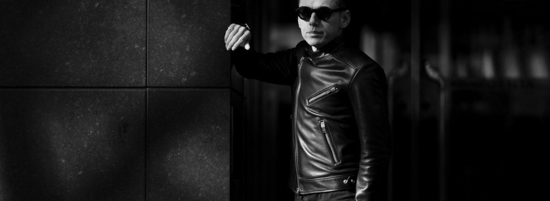 FIXER(フィクサー) F1(エフワン) DOUBLE RIDERS Cow Leather ダブルライダース ジャケット BLACK(ブラック) 【ご予約開始します】【2020.3.14(Sat)~2020.3.29(Sun)】 愛知 名古屋 altoediritto アルトエデリット