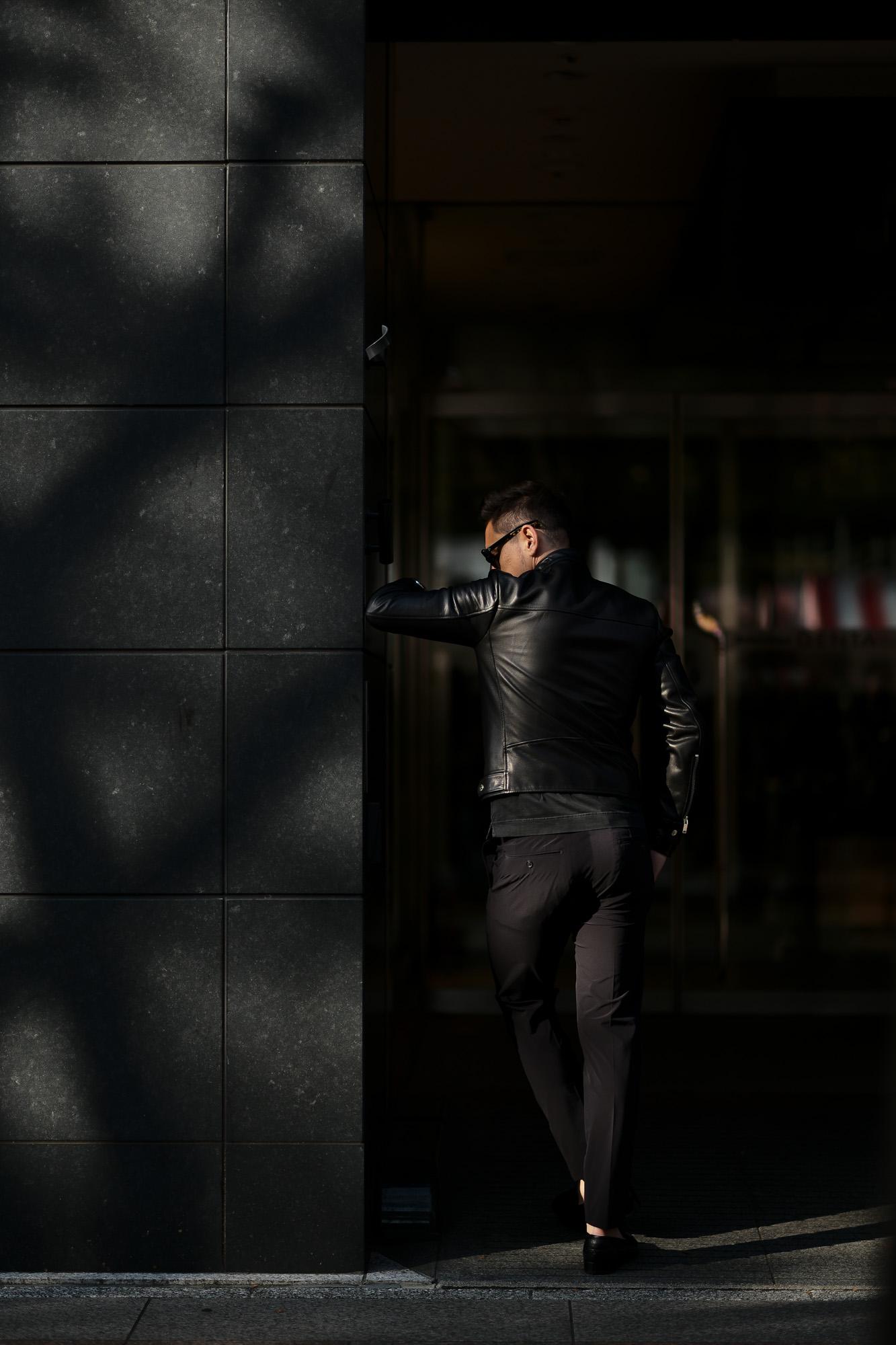 FIXER(フィクサー) F1(エフワン) DOUBLE RIDERS Cow Leather ダブルライダース ジャケット BLACK(ブラック) 【ご予約受付中】【2020.3.14(Sat)~2020.3.29(Sun)】愛知 名古屋 altoediritto アルトエデリット