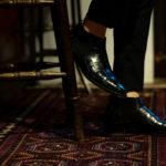 Georges de Patricia(ジョルジュ ド パトリシア) Diablo Crocodile (ディアブロ クロコダイル) 925 STERLING SILVER (925 スターリングシルバー) Crocodile クロコダイル エキゾチックレザー サイドゴアブーツ NOIR (ブラック) 2020【Special Boots】アルトエデリット ジョルジュドパトリシア ブーツ 超絶ブーツ ランボルギーニ ディアブロ lamborghini