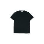 Gran Sasso (グランサッソ) Silk T-shirt (シルク Tシャツ) SETA (シルク 100%) ショートスリーブ シルク Tシャツ BLACK (ブラック・303) made in italy (イタリア製) 2020 春夏新作  【入荷しました】【フリー分発売開始】のイメージ