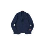ISAIA (イザイア) POMPEI (ポンペイ) ウールシルク ホップサック サマー ジャケット NAVY (ネイビー・810) Made in italy (イタリア製) 2020 春夏新作 【入荷しました】【フリー分発売開始】のイメージ