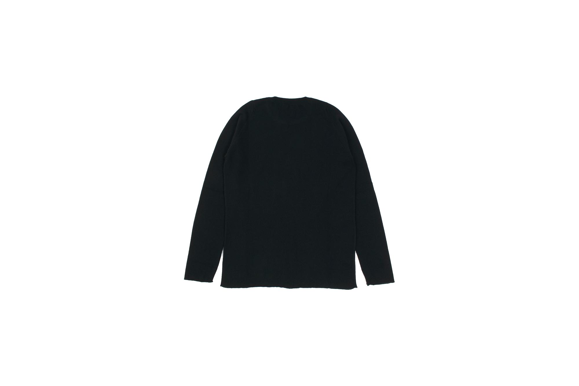 lucien pellat-finet(ルシアン ペラフィネ) Skull Sunglasses Cashmere Sweater (スカル サングラス カシミア セーター) インターシャ カシミア スカル セーター BLACK × NIVEOUS (ブラック × ホワイト) made in scotland (スコットランド製) 2020 春夏新作 愛知 名古屋 altoediritto アルトエデリット