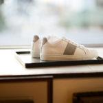 NATIONAL STANDARD (ナショナルスタンダード) EDITION 4 GREY BANDE レザースニーカー WHITE × GREY (ホワイト × グレー・007) 2020 春夏新作  【入荷しました】【フリー分発売開始】のイメージ