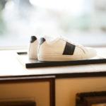 NATIONAL STANDARD (ナショナルスタンダード) EDITION 4 NAVY BANDE レザースニーカー WHITE × NAVY (ホワイト × ネイビー・005) 2020 春夏新作  【入荷しました】【フリー分発売開始】のイメージ