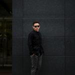 ORIAN (オリアン) LARMY リネンコットン サファリ ジャケット BLACK (ブラック・90) Made in italy (イタリア製) 2020 春夏 【ご予約受付中】のイメージ